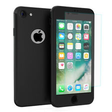 """Coque de protection intégrale 360° Avant Et Arrière NOIR Apple iPhone 7 4.7"""""""