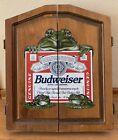Budweiser Frog Dart Board! Rare Collectible USA