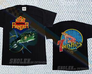 NIGHT RANGER 7 WISHES 1985 T-SHIRT NEW MERCH TOUR RARE HIP HOP