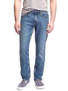 Old Navy men's light wash slim fit 5 pocket built-in flex jeans $45 price NWT