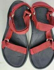Men's Teva Single Strap with Toe Loop Sport Sandals Size 9