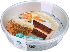 "Wilton 9"" 2 Piece Aluminum Round Cake Performance Pan Set Even-Heating 2105-7908"