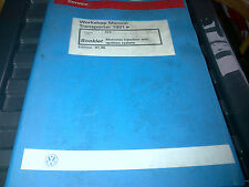 VW Transporter 1991 onwards Factory Workshop Manual motronic injection ignition