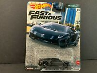 Hot Wheels Lamborghini Aventador Coupe Fast and Furious GBW75-956K 1/64