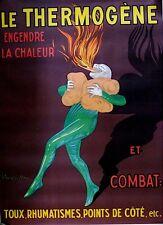 """Cappiello Original Lithograph Poster """"Le Thermogene"""""""