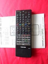 TOSHIBA TV/TEXT/VTR REMOTE CONTROL MODEL:CT-9327 EX/CON