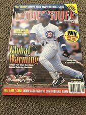 Sammy Sosa Tuff Stuff Magazine September 2001 Chicago Cubs