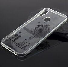 Silikon Tasche Bumper Tattoo Case Handytasche für Huawei P20 Lite P20 Pro P20