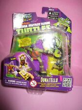 Teenage Mutant Ninja Turtles Donatello Figura & Llavero Nuevo swappz Nickelodeon