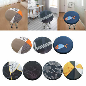 Round Bar Stool Cover Barstool Chair Seat Cover for Home Bar Hotel Use
