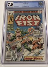 IRON FIST #14 1st Appearance SABERTOOTH CGC 7.0 Comic Sabretooth