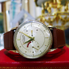 Vintage Le Coultre Vintage 1950's Futurematic Automatic Gold Plated Dress Watch
