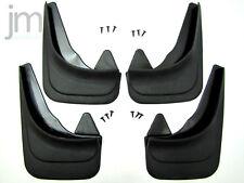 Schmutzfänger Set 4 universal schwarz Gummi Passform Elegant Model 1 + 2 REZAW