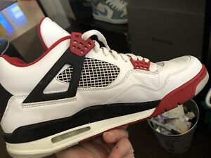 Air Jordan 4 Retro first release not 1980s red and white