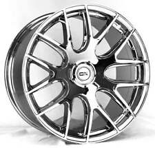"CHROME!!  OX111 19"" Alloy Wheel Mag Rim For Most 5-Studs Audi,BMW, Benz, Fancy"