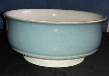 Stoneware Blue Castile Design Serving Bowl by Denby Pottery, Derbyshire, England