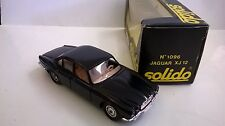 SOLIDO 1:43 DIE CAST AUTO JAGUAR XJ 12 NERO ART 1096