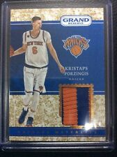 2016-17 Panini Grand Reserve Kristaps Porzingis Materials Patch 23/25 SSP Knicks