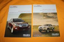 Isuzu D-MAX 2012 Prospekt Brochure Prospetto Catalog Folder Prospect
