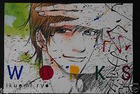 JAPAN Ryo Ikuemi Works Official Art book