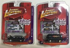 Johnny Lightning Wicked Wagons Release 3 Volkswagen Delivery Van 57 Chevy Nomad