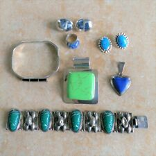 ~Scrap~ Mexico 925 Sterling Silver Jewelry Lot with Stones