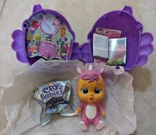 Sasha Rhino Cry Babies Magic Tears Fantasy Winged House . Opened but New!