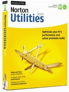 Norton Utilities 5.0 For Win 95 98 2000 NT xp 7 w/ System Doctor speed disk NEW