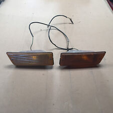 Toyota Celica 71 72 valance turn signals lights OEM front coupe TA22 RA21 RA20