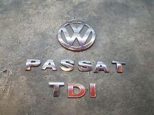 2003 VW PASSAT 1.9 TDI DIESEL VW PASSAT TDI REAR BADGE LOGO EMBLEM