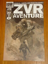 ZOMBIES VS ROBOTS AVENTURE #4 RI COVER 2010 IDW ASHLEY WOOD
