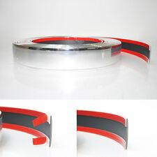 2cm Plastic Chrome Styling Decoration Strip Trim Detail Edging Grill Dash 3metre