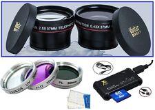 7-Pc Super Saving HD Accessory Kit for Panasonic Lumix DMC-LX7K DMC-LX7W DMC-LX7