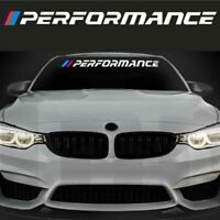 M Performance Car Windshield Sticker Window Decal For Bmw E30 E34 E36 E39 E46