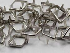 10X7MM Diamond Rim Settings 40 Pieces Silver
