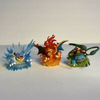 Lot Of 3 Pokemon TCG Generations Figures: Charizard, Venusaur, and Blastoise