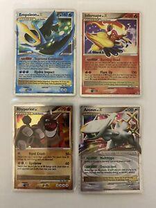 Pokemon Ultra Rare Holo Lv. X Lot Infernape Empoleon Arceus Rhyperior Promo