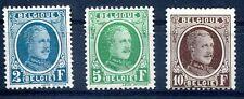 BELGIEN 1926 215-217 * HÖCHSTWERTE (J0180