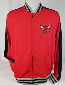 Brand New Men's NBA Fanatics Chicago Bulls Full-Zip Sweatshirt.