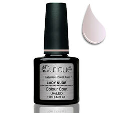 Gel Nail Polish Colour LADY NUDE -sheer opalescent baby pink -Nail Wipes