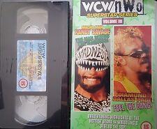 WCW Superstar Diamond Dallas Page & Macho Man Savage ORIG VHS WWE Wrestling