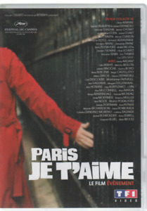Paris Je T'aime Dvd  Gérard Depardieu Fanny Ardant Juliette Binoche Nick Nolte