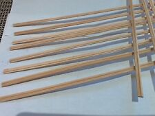 dollhouse miniatures 12 Pcs 1:12 Scale Chair Rail New 2nd's  Molding Trim BOGO