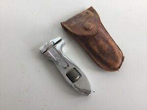 """Superb 3"""" KING DICK Wrench in Leather Case"""