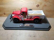 Matchbox Texaco Service Center 1946 Dodge Power Wagon 1:24 Diecast Truck Diorama