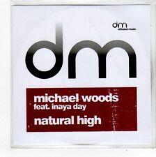 (FO521) Michael Woods ft Inaya Day, Natural High - DJ CD