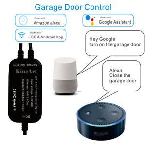 eWelink Wireless WiFi Garage Door Opener Switch APP Voice Control f Alexa Google