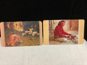 2 Vintage Santa Fe Railroad Pocket Calendars 1961 and 1962