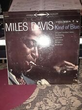 "Miles Davis ""Kind of Blue"" Columbia 6 EYES CS-8163 Stereo 1959 VERY RARE"