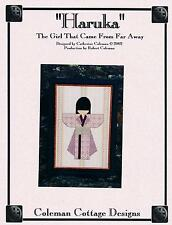 """*FINAL* C.Coleman Cottage Design """"HARUKA"""" ~ Girl from FarAway ~ 57 Pages Charted"""